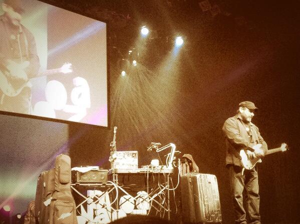 Kevin Honeycutt rocking the closing of iPadpalooza