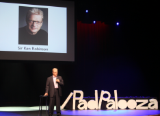 Sir Ken at iPadpalooza in 2013